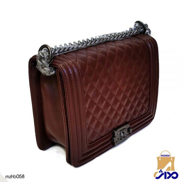 کیف زنانه لحافی CHANEL مدل MZHB058